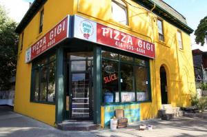 Pizza Gigi has been serving pizza to UofT students and Annex residents for more than 30 years.  416.535.4444. 189...